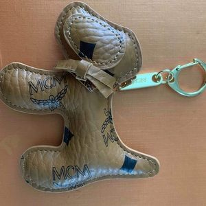 Mcm puppy keychain